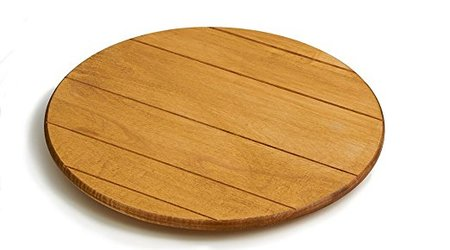 Maple Round Lazy Susan with Artisan Finish made in Vermont