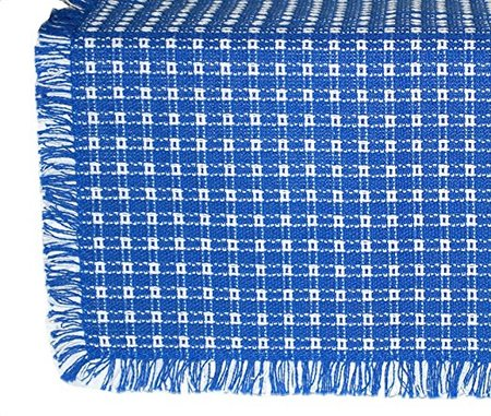 Homespun Tablecloth, Hand Loomed, 100% Cotton made in Vermont