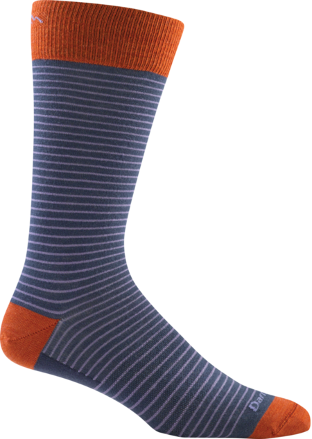 Classic Stripe Crew Light Socks made in Vermont