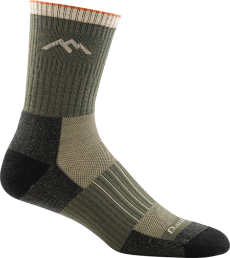 Hunter Micro Crew Cushion Socks made in Vermont