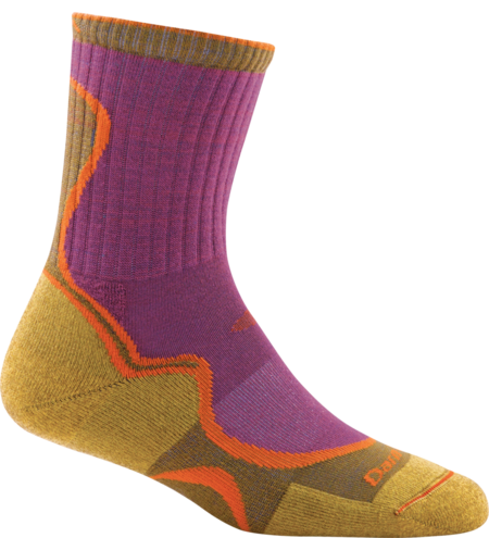 Women's Light Hiker Micro Crew Light Cushion Sock made in Vermont