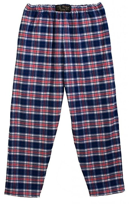 Straight Leg Flannel Lounge Pants made in Vermont
