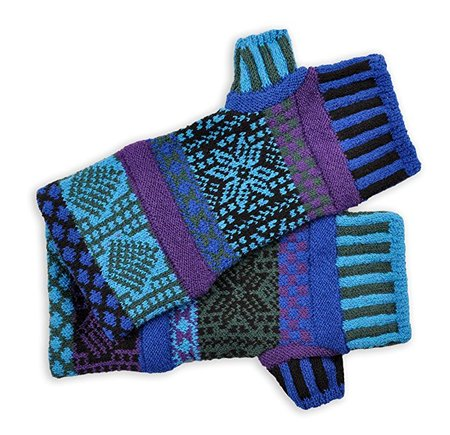Mismatched Fingerless Mittens/Gloves made in Vermont