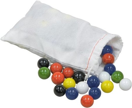 Marbles for Chinese Checkers made in Vermont