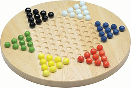 Maple Chinese Checkers made in Vermont