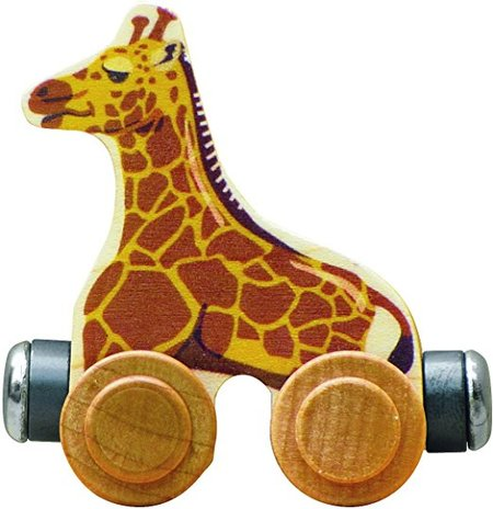 NameTrain - Jordan Giraffe made in Vermont