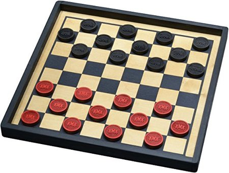 Train Checkers with Premium Board made in Vermont