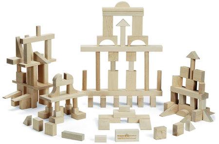 Maple Landmark Master Builder Block Set made in Vermont