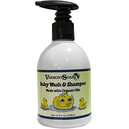 Baby Wash & Shampoo - 8 oz. made in Vermont