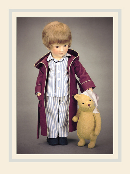 Christopher Robin & Pooh Bedtime Disney Edition With Hat made in Vermont