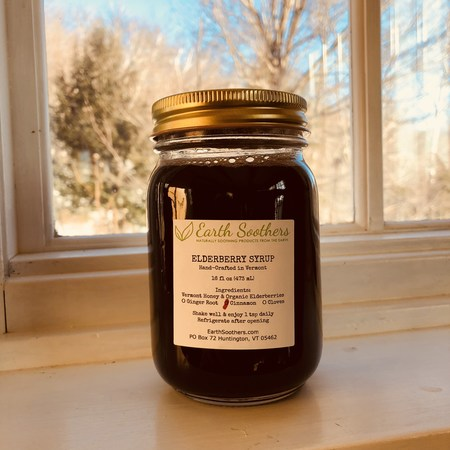 Elderberry Wellness Syrup 16oz made in Vermont