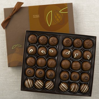 Milk Chocolate Truffles (30 piece) made in Vermont