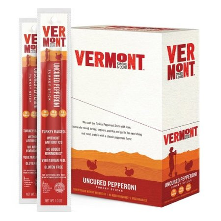 Uncured Pepperoni Turkey Meat Sticks made in Vermont