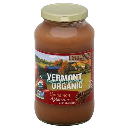 Organic Cinnamon Applesauce made in Vermont
