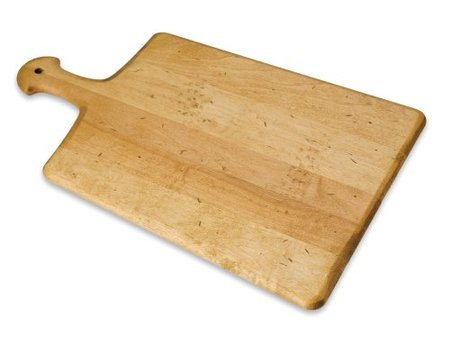 Hardwood Artisan Cutting Board, Paddle-Shaped made in Vermont