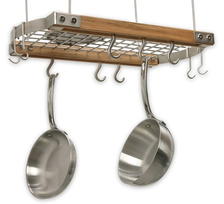Mini Ceiling Pot Rack made in Vermont