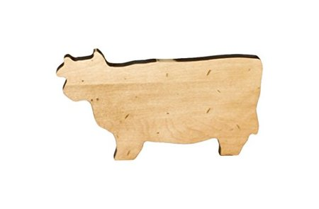 Maple Cow Novelty Serving Board made in Vermont
